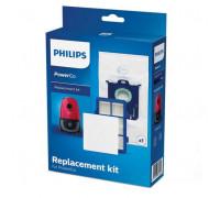 Комплект филтри за прахосмукачка PHILIPS FC8001/01, 2 броя, Торбичка