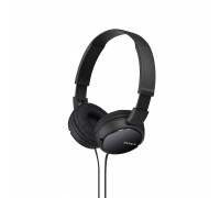 Слушалки Sony Headset MDR-ZX110AP (MDRZX110APB.CE7), Черни