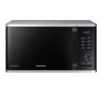 Микровълнова печка Samsung MG23K3515AS/OL, 23l, Grill, 800W, LED дисплей, Сребрист