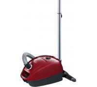 Прахосмукачка Bosch BGL3A210, Vacuum Cleaner, GL-30, PowerProtect Dustbag, 4l,  79 rdB(A), червена