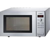 Микровълнова фурна Bosch Serie 4 HMT84M451, 1450 W, 7 автоматични програми, 5 степени на мощност, Дигитален дисплей, 25 л