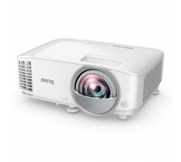Мултимедиен проектор BenQ MX808STH (9H.JMG77.13E), XGA (1,024 x 768) резолюция, контрастно съотношен...