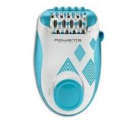 Епилатор Rowenta EP2910F1 Skin Spirit Blue, 2 скорости, Сензор за извивки, Приставка за деликатни зо...