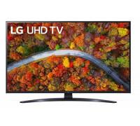 "Телевизор LG 43UP81003LR, 43"" 4K IPS UltraHD TV 3840 x 2160, DVB-T2/C/S2, webOS Smart TV, ThinQ..."