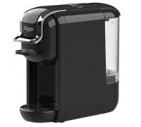 Еспресо машина zephyr zp 1171 l, за капсули и мляно кафе 3в1, 1650w, 19 бара, черен