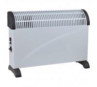 Печка конвекторна Muhler CH-2018F, 2000W, 3 степени на мощност, Термостат, Турбо вентилатор, Защита от прегряване