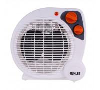 Печка вентилаторна Muhler MFH-2010, 2000W, 2 нива на мощност, Функция охлаждане, Термостат, Защита от прегряване