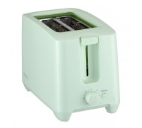 Тостер HOMA HT-4880 мента, 650W-750W, 2 слота за хляб, 7 степени на препичане на филийките