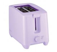 Тостер HOMA HT-4880, 650W-750W, 2 слота за хляб, 7 степени на препичане на филийките, Виолет