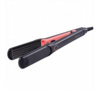 Преса за коса HOMA SP-337W, 25W, Светлинен индикатор за работа, Вълнички, Корал