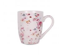 Чаша за чай и мляко 350ml, фламинго