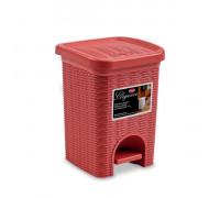Кош за смет Stefanplast Elegance 6L, ориенталско червено