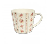 Чаша за чай и мляко Jameson + Taylor Bouquets Red 450ml, Jumbo