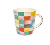 Чаша за чай и мляко Jameson + Taylor Colored Squares 300ml