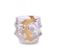 Чаша за уиски Bohemia 1845 Calypso Golden Ice 300ml, 6 броя