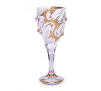 Чаша за вино Bohemia 1845 Calypso Golden Ice 320ml, 6 броя