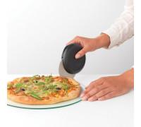 Нож за пица и печива с предпазител Brabantia Tasty+ Dark Grey