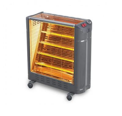 Печка кварцова KUMTEL KS-2861, 3000W 5 тръби, Овлажнител, Термостат, Защита от прегряване