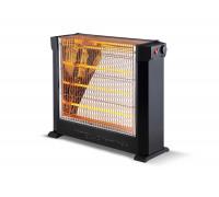 Печка кварцова KUMTEL KS-2760, 2200W, 4 тръби, Термостат, Защита от прегряване