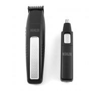 Тример 3в1 Muhler MC-313, 3W/1.5W, Приставки за оформяне на брада , мустаци и бакенбарди, Тример за нос и уши