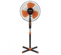 Вентилатор на стойка Perfect FM-3235  Черно - Оранж, Тих мотор, Осцилация на 90 градуса, 30 градуса ...