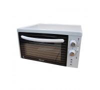 Фурна DIPLOMAT NF 282W, Грил функция (горен нагревател 1000W), Терморегулатор (0-250⁰C), Двойно фиксирано стъкло