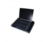 Скара Електрическа СКИТИЯ, 1600W, С капак, Метало-керамично покритие, Нагревателна спирала