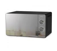 Микровълнова фурна HOMA HM-7017G, 20L, 700W/1150W, 30 минутен таймер, 5 степени за готвене