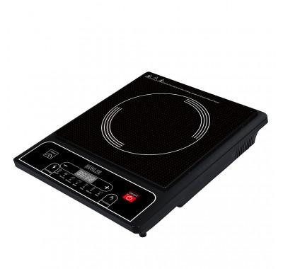 Котлон индукционен Muhler MI-2520, 2000W, LED дисплей, Свободностоящ, 8 функции за готвене