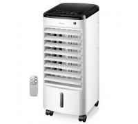 Мобилен охладител Homa HMC-7410R, Функционира като овлажнител, Пречиства въздуха от едри прахови час...