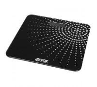 Везна Електронна VOX PW436-01, черно и бяло, LCD дисплей, до 180 кг с точност до 100 гр