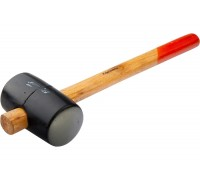 Чук гумен, 910 g, черна гума, дървена дръжка SPARTA 111605