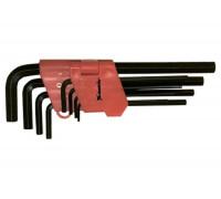 К-т ключове имбусни (шестостенни), 1,5-10 mm, 9 бр., удължени MTX 112319