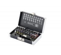 К-т битове, магнитен адаптер, 32 части, пластмасова кутия GROSS 11363