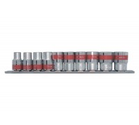 """К-т вложки универсални, 1/2"""", SPLINE, 10 бр., 10-22 mm MTX 135979"""