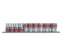 """К-т вложки универсални, 1/4"""", SPLINE, 10 бр., 4-13 mm MTX 135999"""