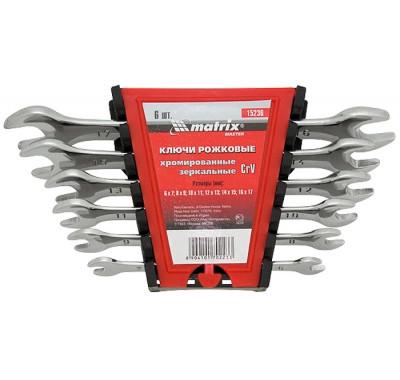 К-т ключове гаечни, 6-22 mm, 8 бр., Elliptical, полирани MTX MASTER 152389