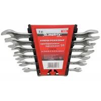К-т ключове гаечни, 6-32 mm, 12 бр., Elliptical, полирани MTX MASTER 152429