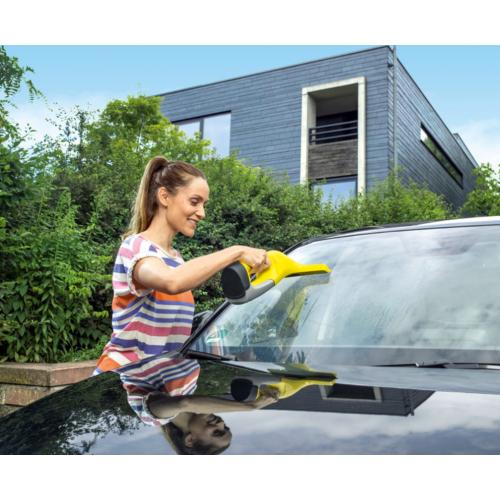 Уред за почистване на прозорци Karcher WV 6 Plus (16335100), Литиево-йонна батерия и време за работа 100 мин