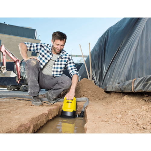 Потопяема помпа Karcher SP 7 Dirt (16455040), Мощност 750W и  Дебит 15500l/h