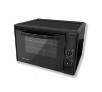 Малка готварска фурна Eldom 204VN, 1400 W, 38 л., клас А, черна, защита