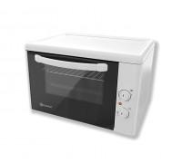 Малка готварска фурна Eldom 204VW, 1400 W, 38 л., клас А, бяла, защита