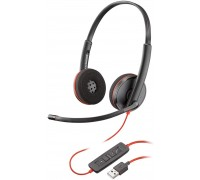 Слушалки с микрофон Plantronics Blackwire C3220 USB-A