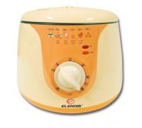 Фритюрник Elekom ЕК-217 А, 1200 W, Светлинна индикация, Капацитет на кошницата: 700 грама, Терморегулатор: 80-190°С