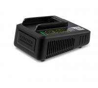 Бързо зарядно за градински уреди Karcher 18 V Fast Charger Battery Power (24450320), Съвместимo с вс...