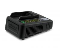 Бързо зарядно за градински уреди Karcher 36 V Fast Charger Battery Power (24450330), Съвместимo с вс...