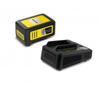 Стартов комплект Karcher Starter Kit Battery Power 18/50 (24450630), Мощни литиево-йонни клетки