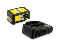 Стартов комплект Karcher Starter Kit Battery Power 36/25 (24450640), Мощни литиево-йонни клетки