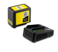 Стартов комплект Karcher Starter Kit Battery Power 36/50 (24450650), Мощни литиево-йонни клетки