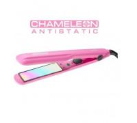 Преса за коса Chameleon antistatic Elekom ЕК-248-CHA, 55 W, Копринено Гладка коса, Изправяне и навив...